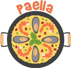 Paella Print Art