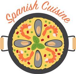 Spanish Cuisine Print Art