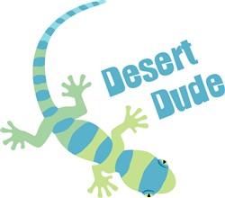 Desert Dude Lizard Print Art