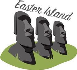 Easter Island Print Art