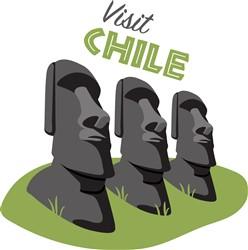 Visit Chile Print Art