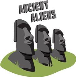 Ancient Aliens Print Art