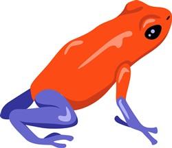 Poison Dart Frog Print Art