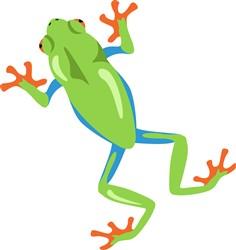 Frog Print Art