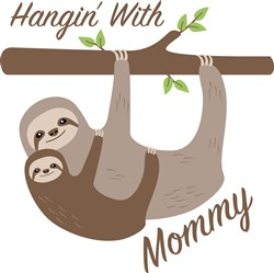 Hanging With Mommy Print Art