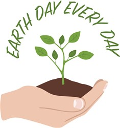 Earth Day Every Day Print Art