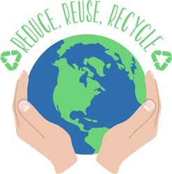 Reduce Reuse Recycle Print Art