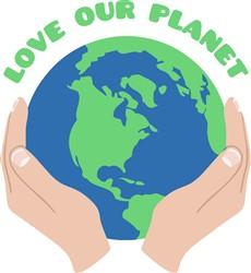 Love Our Planet Print Art