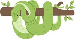 Jungle Snake Print Art