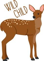 Wild Child Deer Print Art