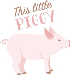 This Little Piggy Print Art