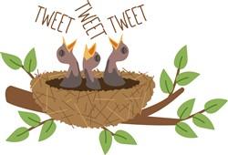 Bird Tweet Print Art