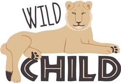 Wild Child Lion Print Art