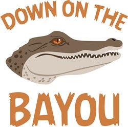 On The Bayou  Print Art