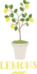Lemons Print Art