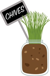 Chives Garden Print Art