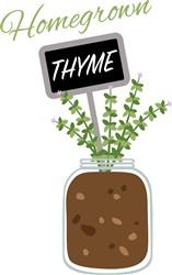 Homegrown Thyme Print Art
