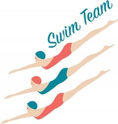 Swim Team Print Art