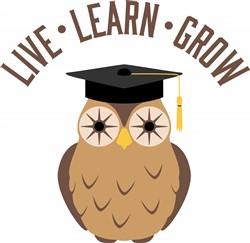 Live Learn Grow Print Art