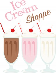 Ice Cream Shoppe Print Art