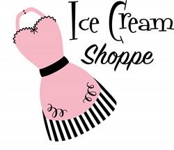 Ice Cream Shoppe Apron Print Art