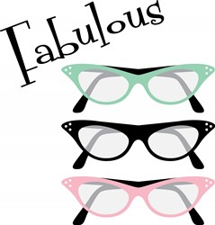 Fabulous Glasses Print Art