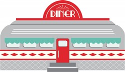 Rail Car Diner Print Art