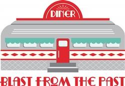 Blast From Past Diner Print Art