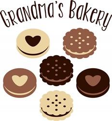 Grandmas Bakery Print Art