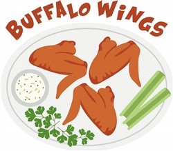 Buffalo Wings Print Art