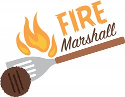 Fire Marshall Print Art