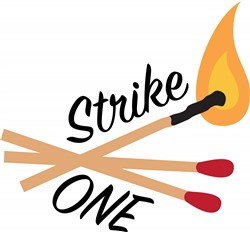 Strike One Print Art