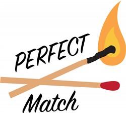 Perfect Match Print Art