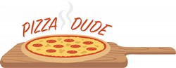 Pizza Dude Print Art