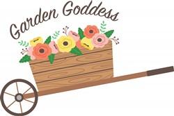 Garden Goddess Print Art
