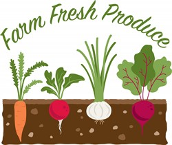 Farm Fresh Produce Print Art