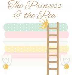 Princess And Pea Print Art