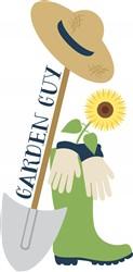 Garden Guy Print Art