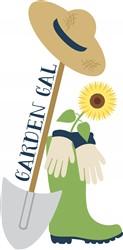 Garden Gal Print Art