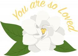 Gardenia Love Print Art