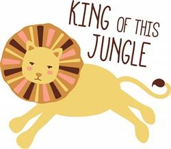 King Of Jungle Print Art