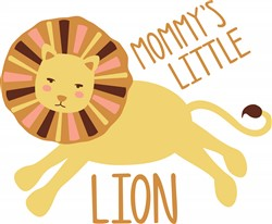 Mommys Little Lion Print Art