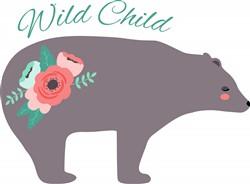 Wild Child Bear Print Art