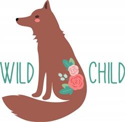 Wild Child Fox Print Art