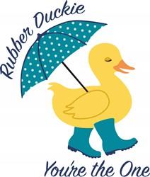Rubber Duckie Print Art