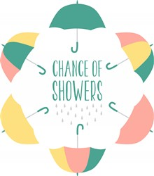 Chance Of Showers Print Art