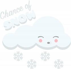 Chance Of Snow Print Art