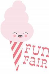 Fun Fair Cotton Candy Print Art