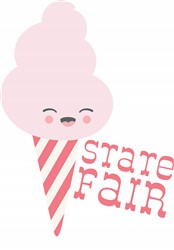 State Fair Cotton Candy Print Art