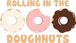 Rolling Doughnuts Print Art